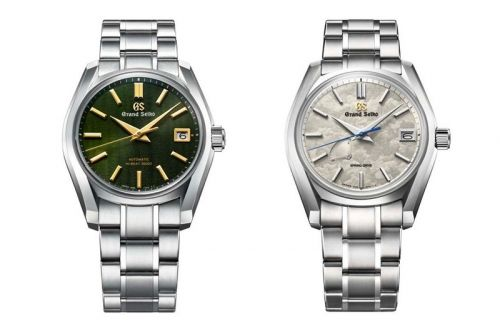 Grand Seiko Celebrates Japan's 24 Seasons With New Special Edition Four-Piece Collection