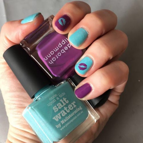 Just Kiss Me: Nail Art Featuring Picture Polish, Whats Up Nails and Deborah Lippmann