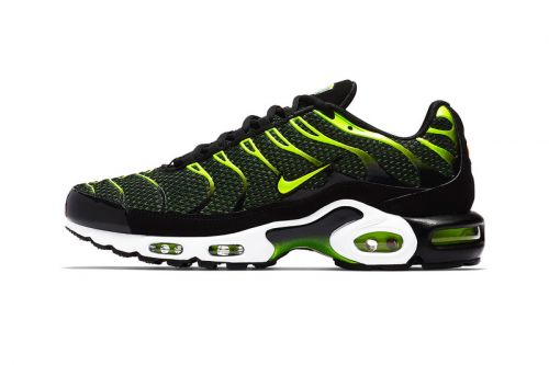 "Nike's Air Max Plus Gets a Vibrant Hit of ""Volt"""