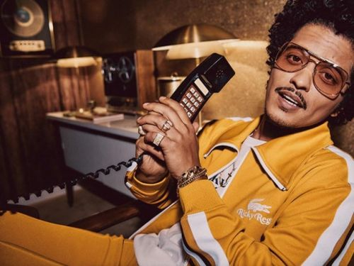 Lacoste X Ricky Regal Bruno Mars Launches First Lifestyle Collection