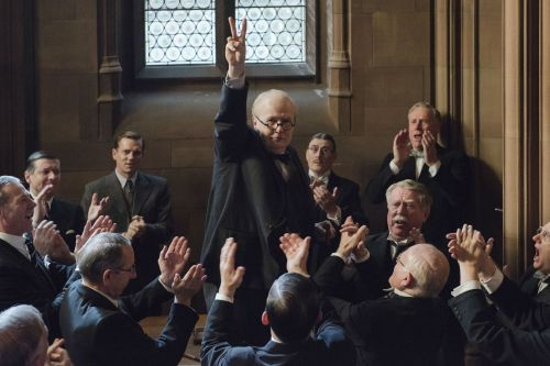 Gary Oldman knocks it out of the park as Winston Churchill in 'Darkest Hour'