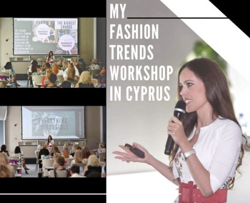 My Fashion Trends Workshop in Cyprus