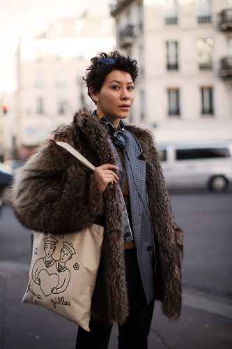 On the Street.Layering, Paris