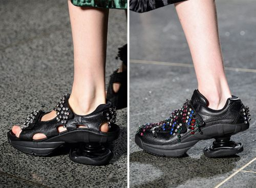 Christopher Kane's Ugly Shoe Obsession Has Reached New Heights-Literally