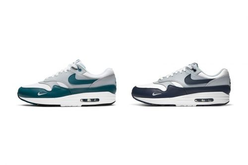 """Nike Serves up the Air Max 1 in """"Dark Teal Green"""" and """"Obsidian"""""""