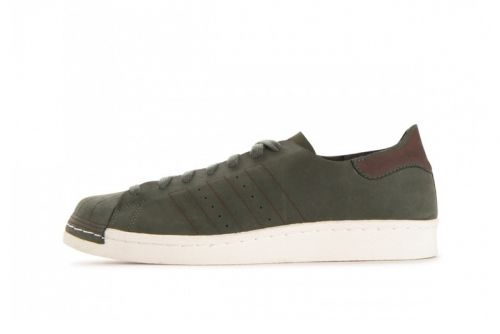 """Adidas's Superstar 80s Takes on a Deconstructed """"Base Green"""" Makeover"""