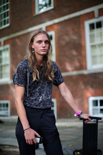 On the Street.Androgyny, London