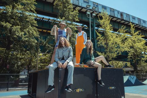 DC Hits The Uptown Rooftops and Streets in Its Latest '90s Inspired E.Tribeka Collection