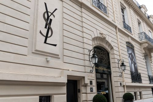 NEW DESIGNS ON VIEW IN THE INAUGURAL DISPLAY THE MUSEE YVES SAINT LAURENT PARIS