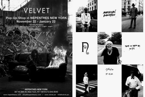 NEPENTHES Hosts Mister Mort Street Style Exhibition & Pop-Up