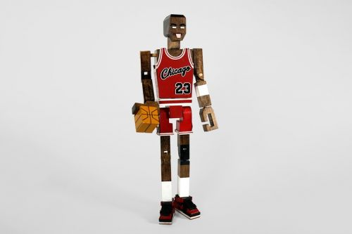 Honorroller Crafts Michael Jordan Wooden Sculpture