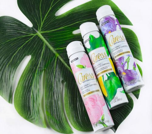 Refresh with NEW Caress Botanicals Body Sprays!