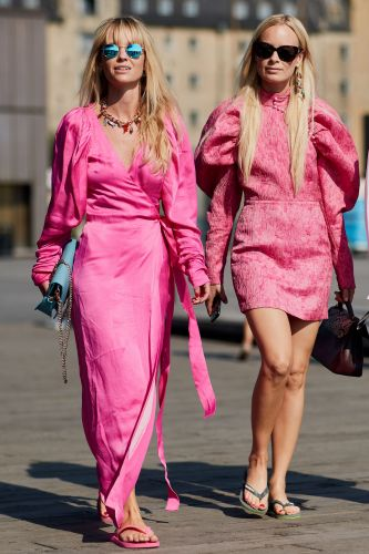I Am Not a Hot-Pink Person, But These 13 Outfits Are Changing Me