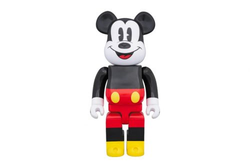 Mickey Mouse's Streetwear Cred Gets Immortalised Onto a BE RBRICK