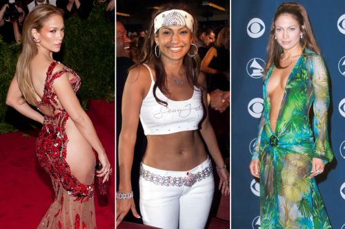 J.Lo's most fabulous - and scandalous - looks