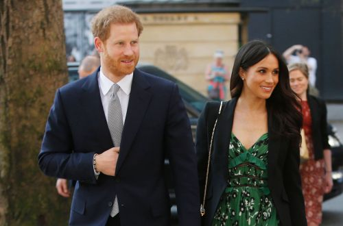 Meghan Markle Wore a Thing: Floral Self-Portrait Dress Edition