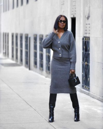I'm 56, Live in NYC, and Love Wearing These Knitwear Outfits