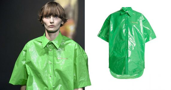 Balenciaga is at it again with this £645 plastic bag shirt