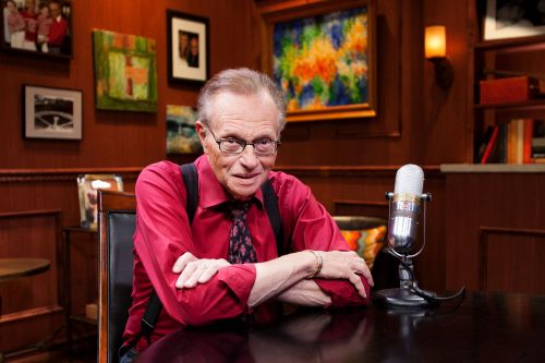 Nothing could keep Larry King away from TV: 'They're gonna have to carry me out'