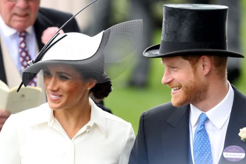 Meghan Markle Wore A Thing: Philip Treacy and Givenchy Edition