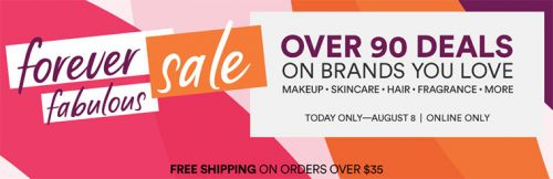 Ulta Forever Fabulous Sale | August 8th, 2018 Only!