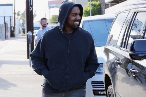 Kanye West Steps out in Never-Before-Seen adidas YEEZY BOOST 700 Wave Runners