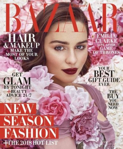 Emilia Clarke Stuns as Our December/January Cover Star!The