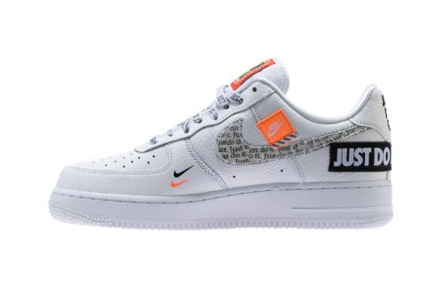 """A New Nike Air Force 1 Low Is Destined for The """"Just Do It"""" Pack"""