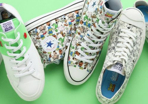 A 'Toy Story' x Converse Sneaker Collaboration Surfaces