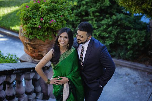 Vishal + Chinar Engagement Session by Asaad Images