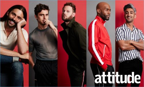 Queer Eye Stars Cover Attitude, Talk Show Experience