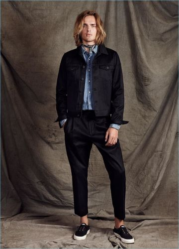 Japan to the 'Dam: Ton Heukels Sports Scotch & Soda's Pre-Spring '18 Looks