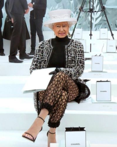 So, the Queen just stole London Fashion Week