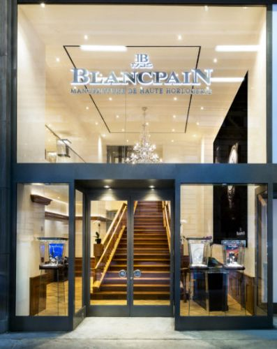 Blancpain Boutique Opens in New York