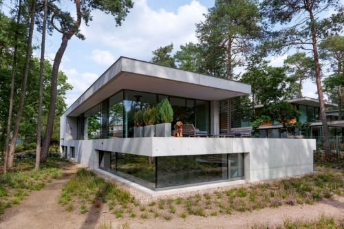 Bedaux de Brouwer Architects Bring Brutalism to This Netherlands Home