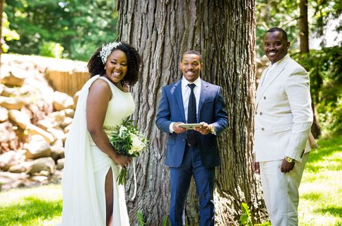 Indiana Couple Says I Do in an Intimate Garden Extravaganza