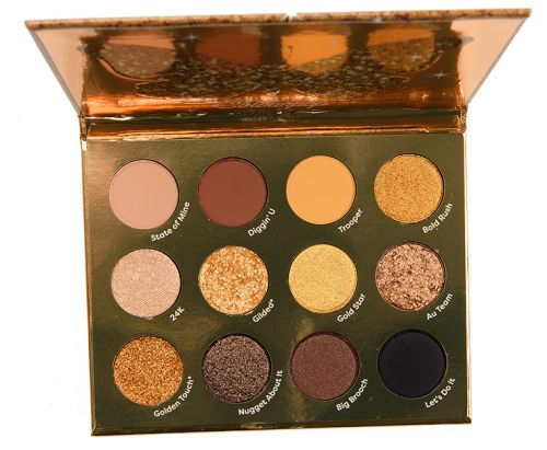 ColourPop Good as Gold Eyeshadow Palette Review & Swatches