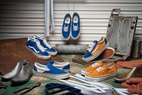 Vans Looks Into Its Archives for Spring/Summer 2018 Anaheim Pack