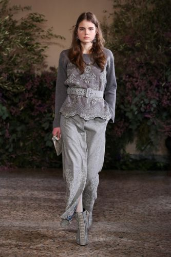 Luisa Beccaria Fall 2018: Milan Fashion Week