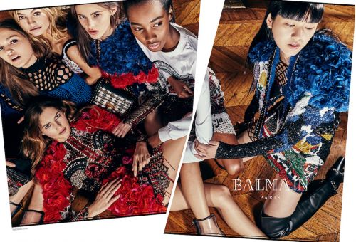 Olivier Rousteing Shoots Balmain's Summer Campaign