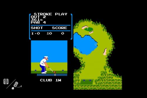 Every Nintendo Switch Has a Hidden Copy of 'NES Golf'