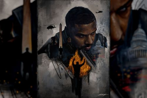 Chuck Styles Exhibits the Art of Revenge With Limited-Edition Print for Tom Clancy's 'Without Remorse'