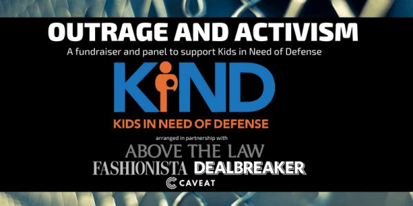 Join Us: Outrage and Activism - A Panel Fundraiser to Support Kids in Need of Defense