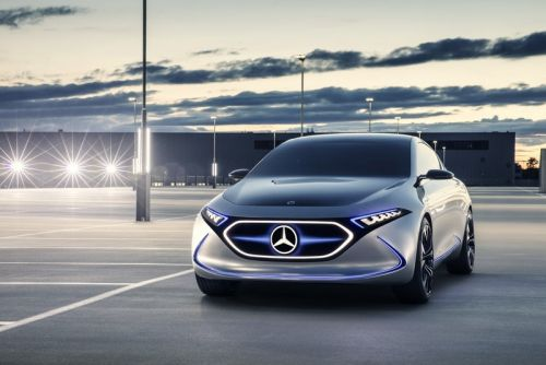 Mercedes-Benz Unveils the All-Electric EQA Concept Car