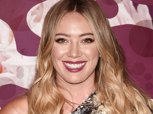 Hilary Duff Shares Her Home Decorating Style & A Millennial Pink Door Is Just The Jumping Off Point