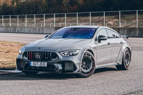 """Brabus Tunes Mercedes-AMG's GT 63 S Into a $500k USD ROCKET 900 """"One of Ten"""""""