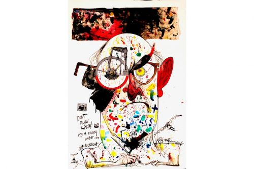 Ralph Steadman Mints Iconic 'Fear and Loathing' Illustrations as NFTs