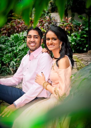 Sneha + Ronak Engagement Session by Zamana Lifestyle Photography