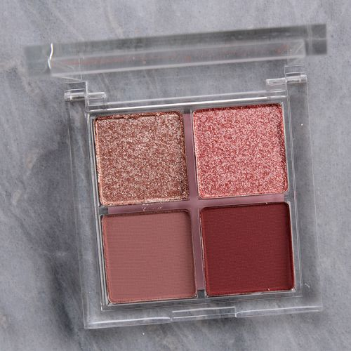 ColourPop Sorbet Eyeshadow Quad Review & Swatches