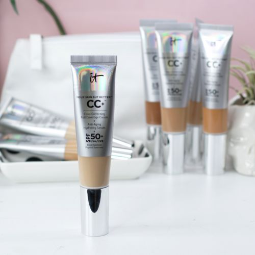 It Cosmetics CC Cream SPF 50 Review and Swatches